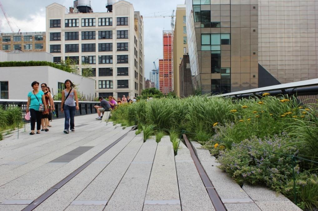 High Line Park tracks New York City NYC JetSettingFools.com
