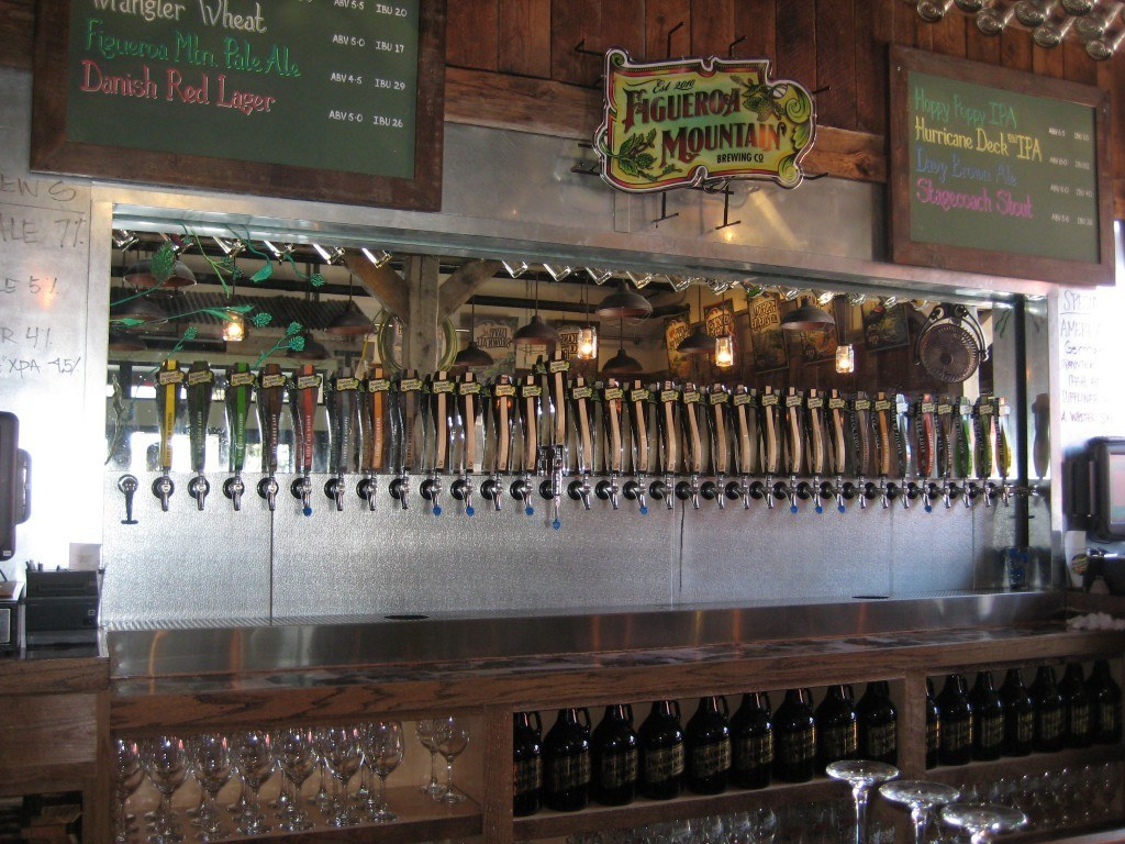 We visited the recently opened Figueroa Mountain Brewing Co during our Santa Barbara day trip