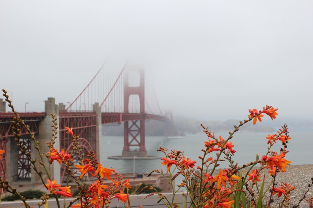 Golden Gate Bridge from the south end