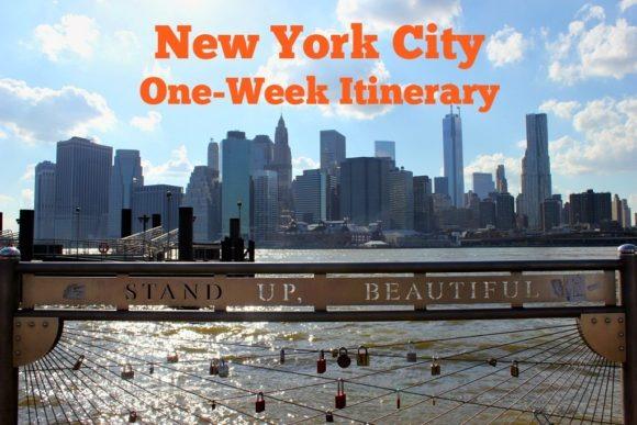 New York City One-Week Itinerary JetSettingFools.com