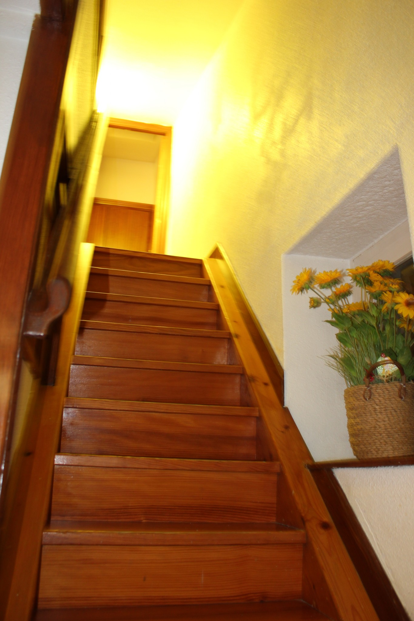 The Stairs To Our Unique Hondarribia Rental, The Attic, At Hotel Saint  Nikolas In