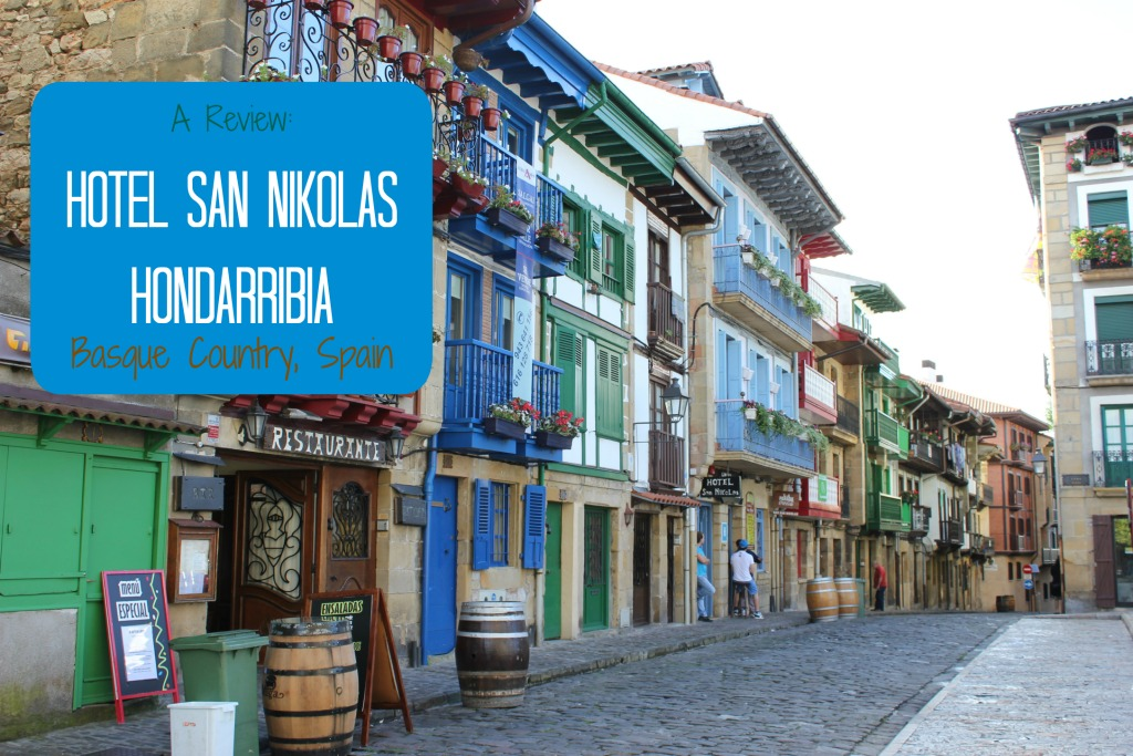 Review Hotel San Nikolas Hondarribia Basque Country Spain by JetSettingFools.com