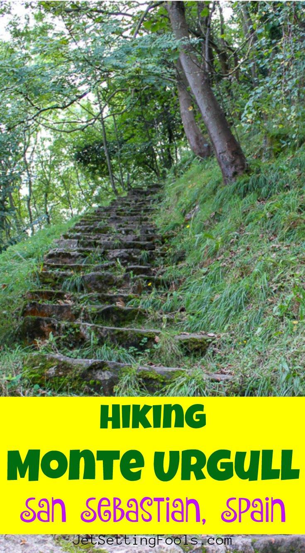 Hiking Mont Urgull, San Sebastian, Spain by JetSettingFools.com