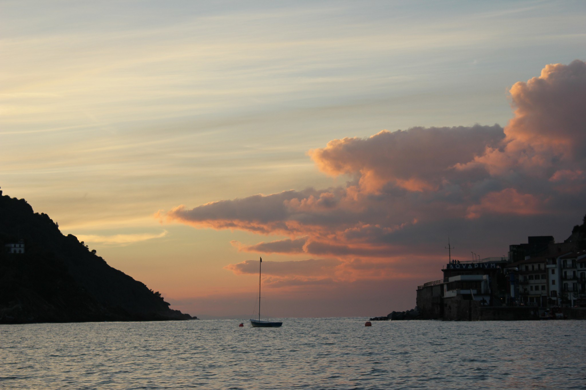 Sunset San Sebastian Spain