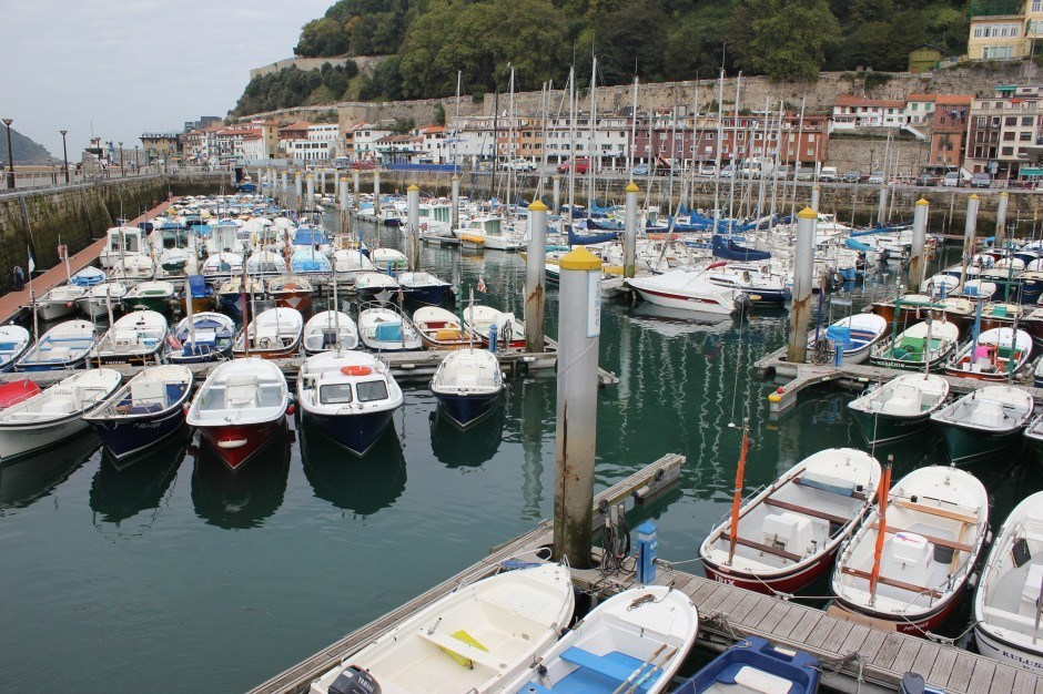 San Sebastian, Spain: The Old Town Port