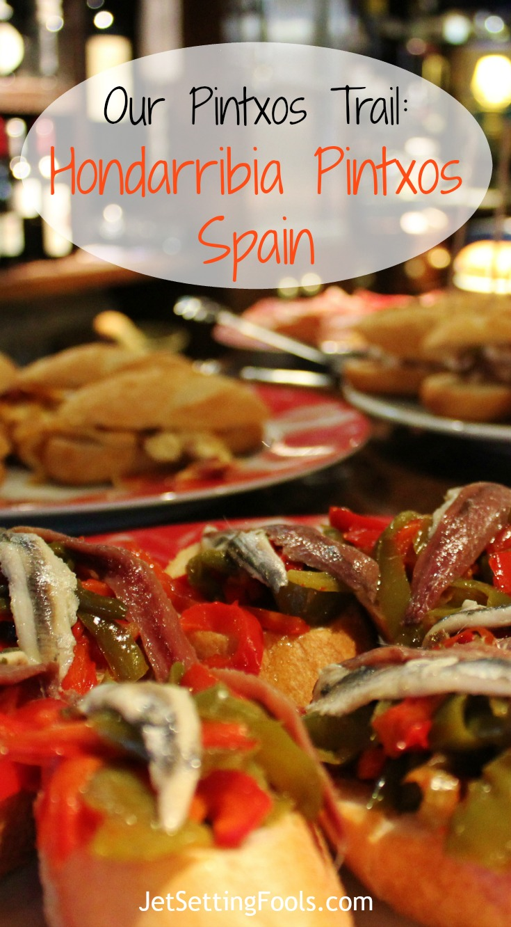 Pintxos Hondarribia in Basque Country Spain by JetSetting Fools