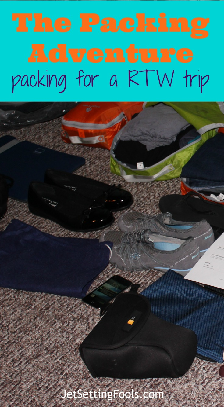 packing for a RTW trip JetSetting Fools