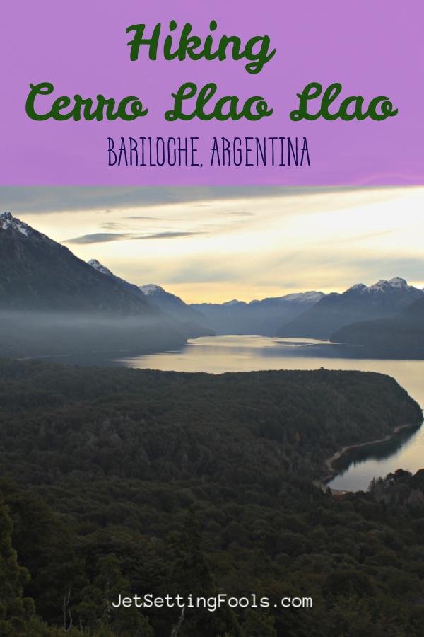 Hiking Cerro Llao Llao Bariloche Argentina by JetsettingFools.com