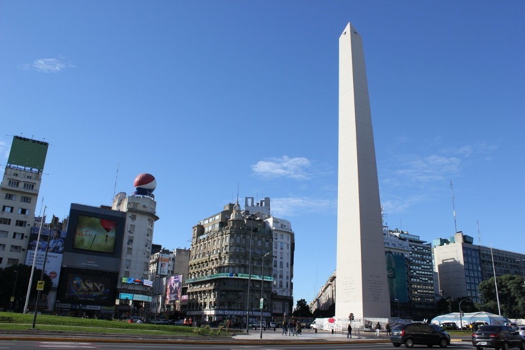 One-day itinerary for Buenos Aires: Obelisco in Buenos Aires, Argentina