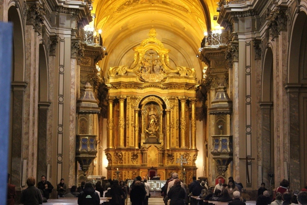 One-day itinerary for Buenos Aires: Catedral Metropolitana on Plaza de Mayo, Buenos Aires, Argentina