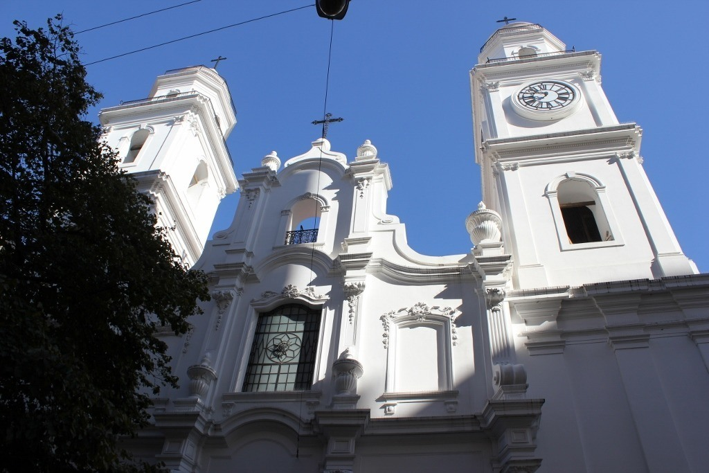 Iglesia de San Ignacio de Loyola, the oldest church in Buenos Aires, Argentina