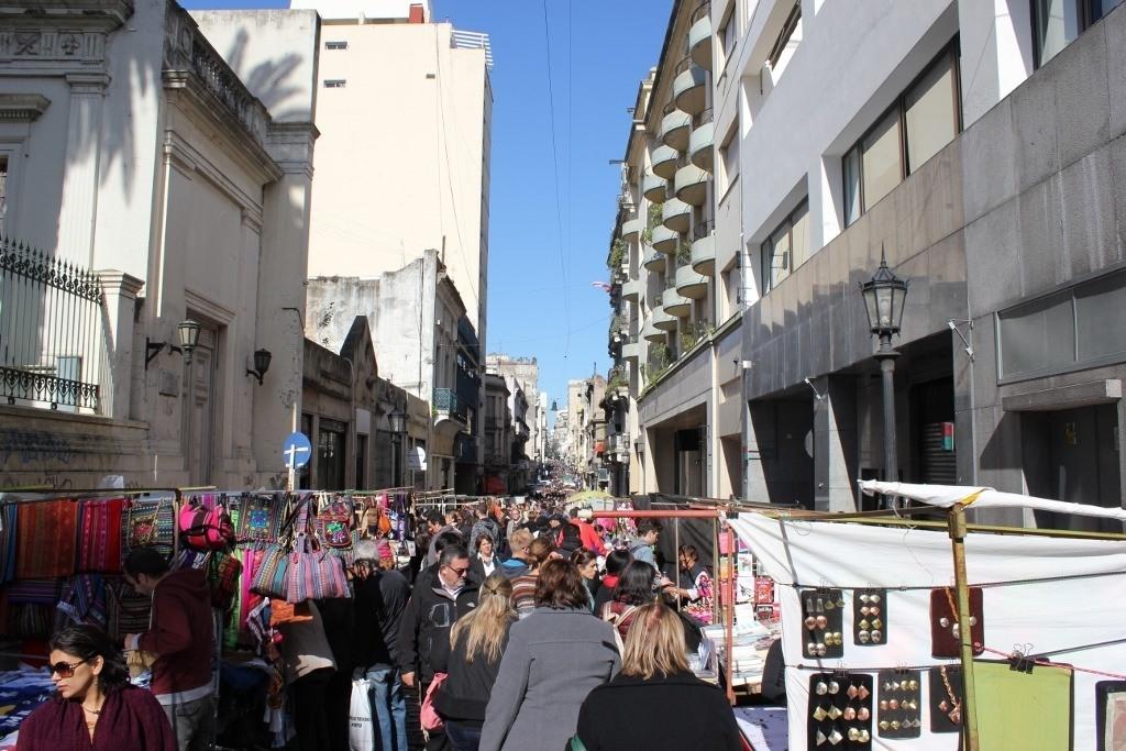 The Sunday Feria de San Pedro Telmo in Buenos Aires, Argentina