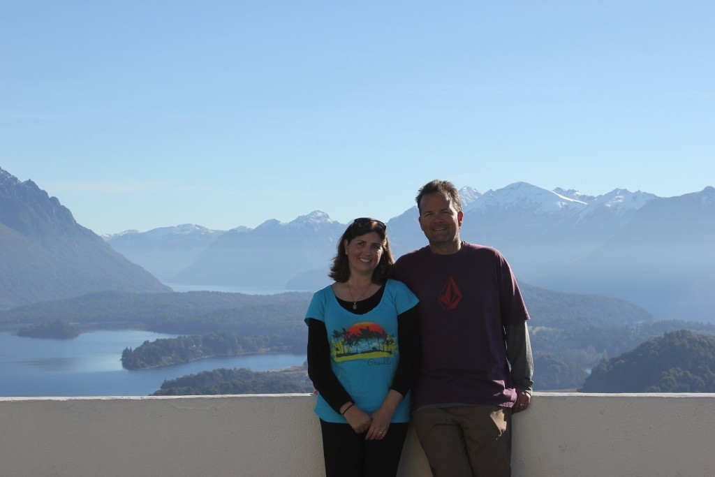 We conquered Cerro Campanario! Bariloche, Argentina
