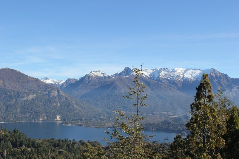 Views from Cerro Campanario in San Carlos de Bariloche, Argentina