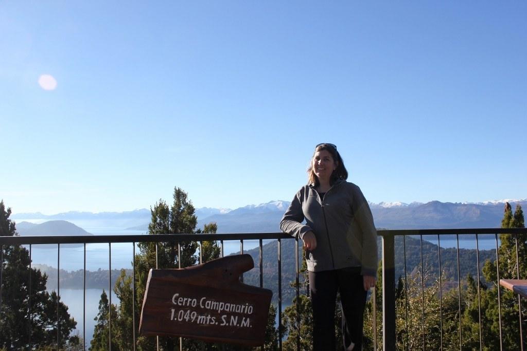 Cerro Campanario in Bariloche, Argentina - 1049 meters high