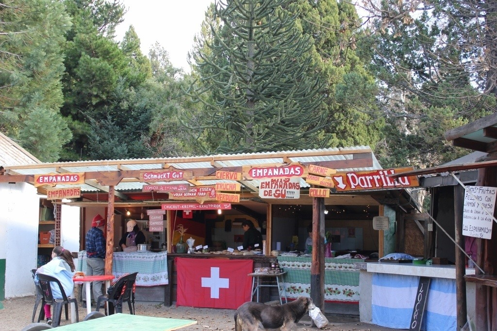 Colonia Suiza in Bariloche - food options
