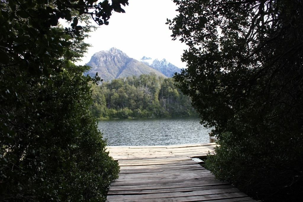 Lago Escondido at Parque Municipal Llao-Llao in Bariloche, Argentina