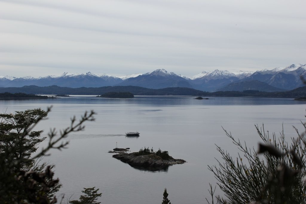 Mirador del Tacul - our favorite vista - at Parque Municipal Llao-Llao in Bariloche, Argentina