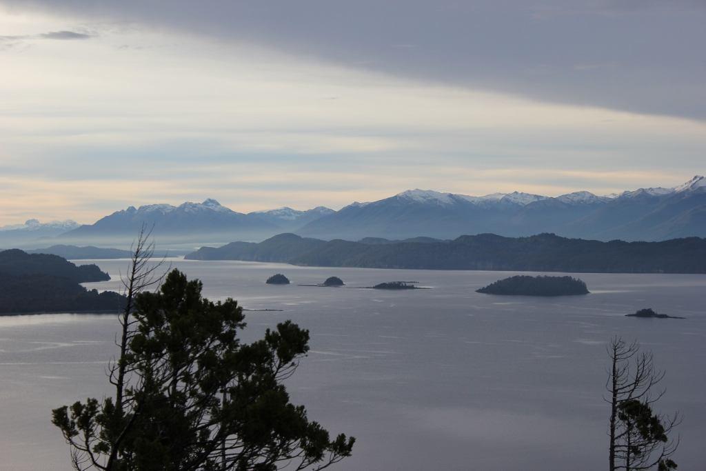 View from Cerro Llao-Llao at Parque Municipal Llao-Llao in Bariloche, Argentina