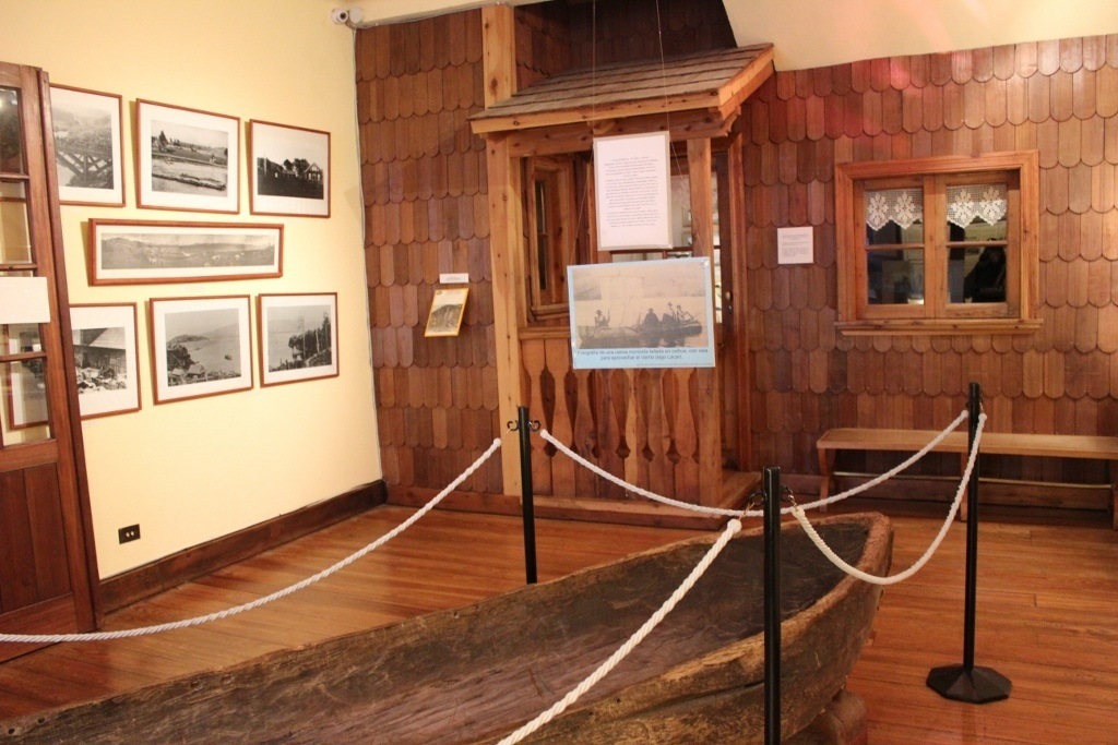 Recent regional history at the Patagonia Museum in Bariloche, Argentina