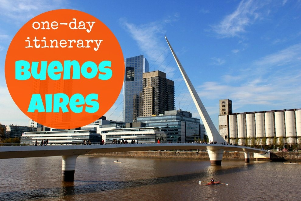 A One-Day Itinerary for Buenos Aires, Argentina JetSettingFools.com