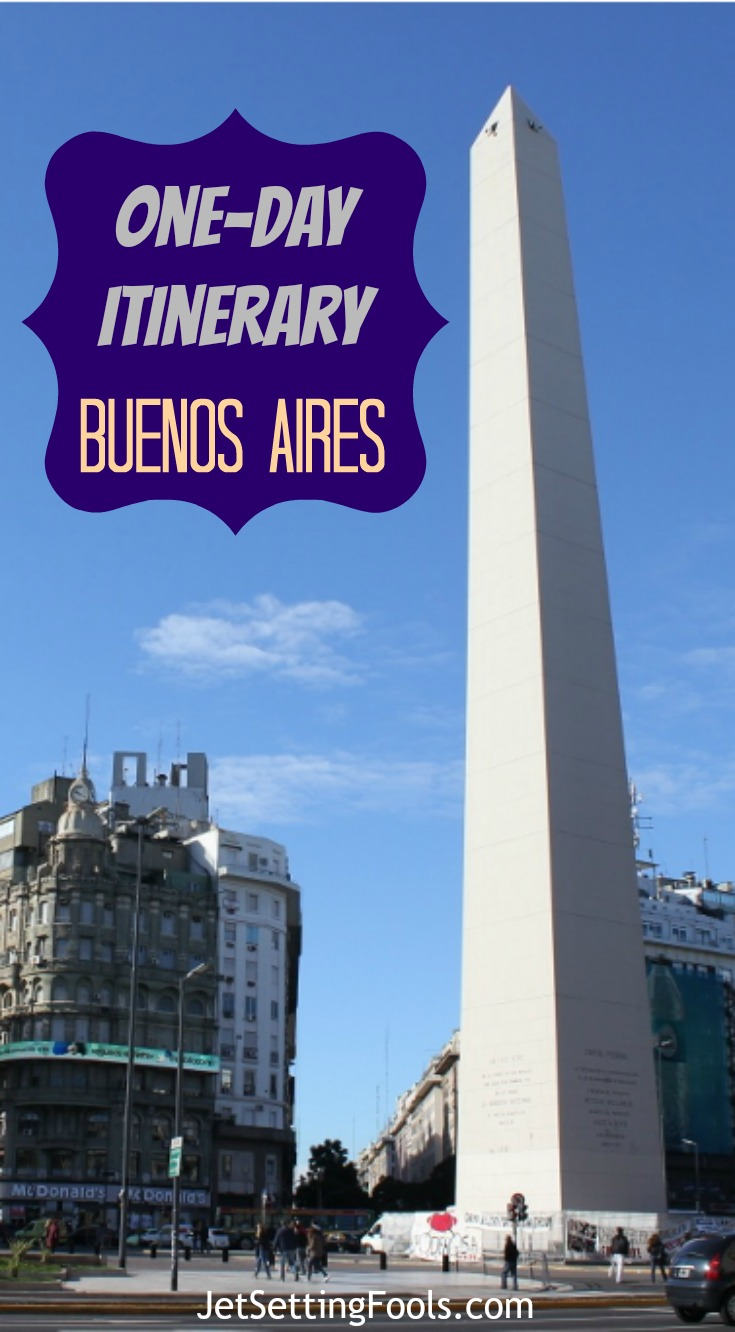 One-day itinerary for Buenos Aires JetSetting Fools