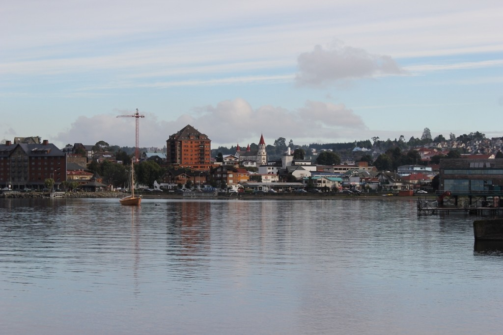 View of Puerto Varas, Chile