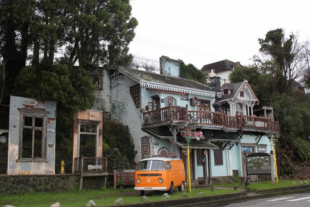 The funky Pablo Fierro Museum in Puerto Varas, Chile