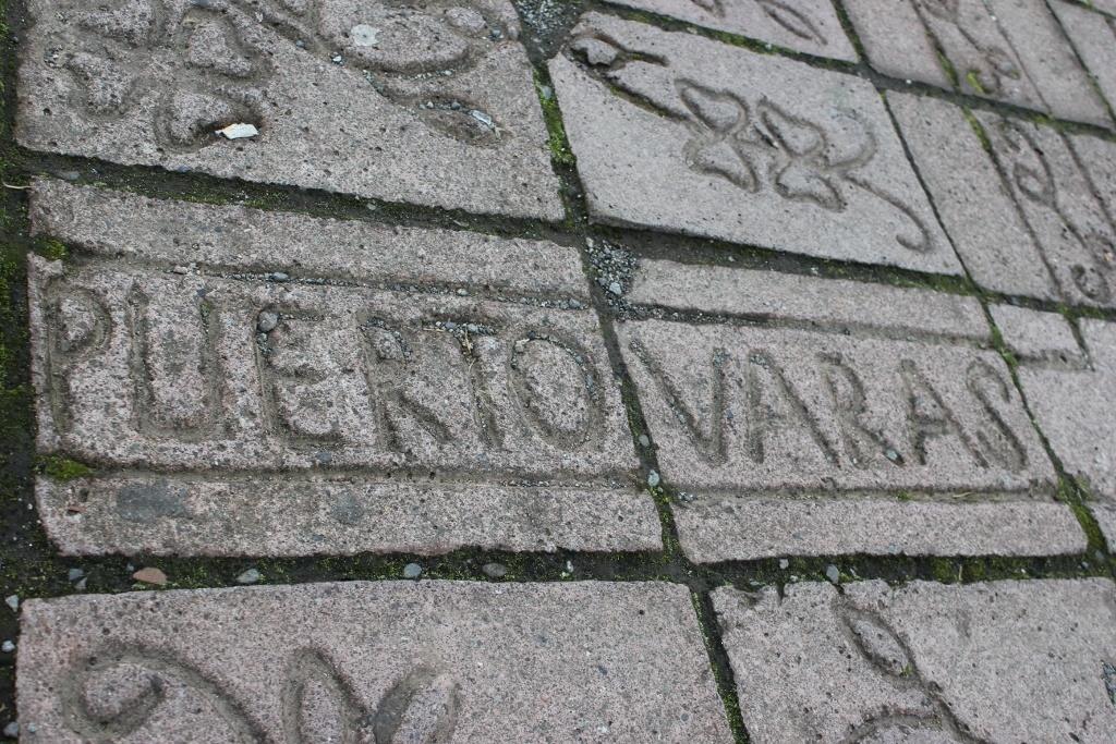 Puerto Varas, Chile bricks