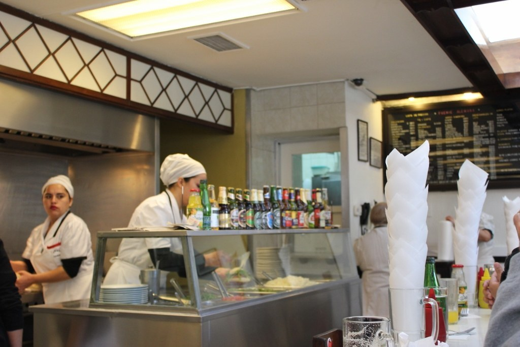 What to eat in Santiago, Chile: Lomito at Fuente Alemana