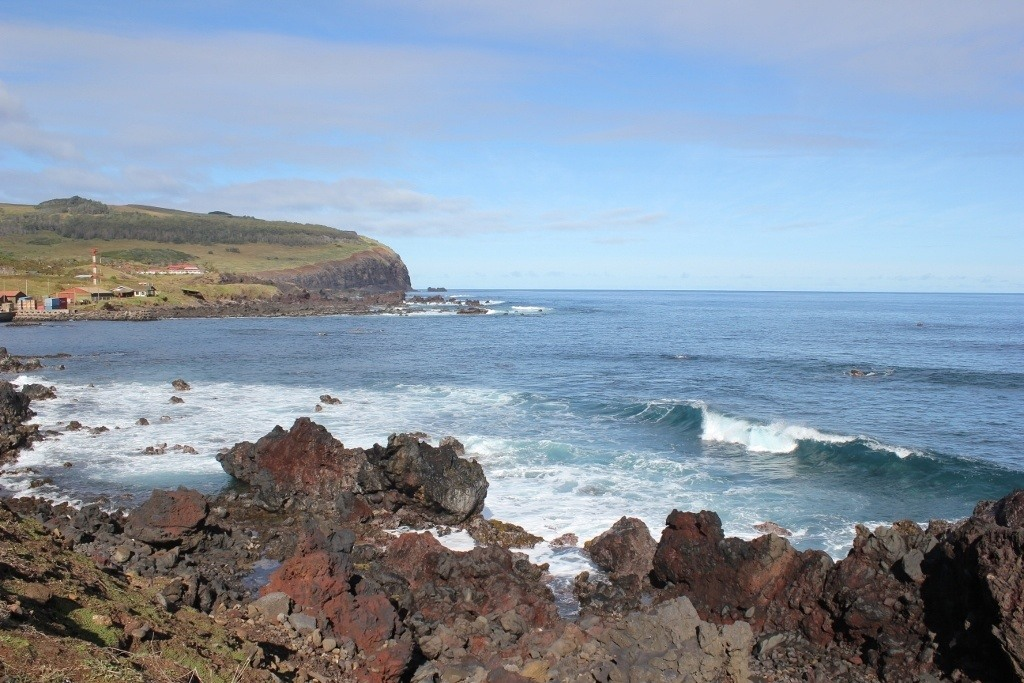 Hike Easter Island: From Hanga Roa to the 1000-foot cliffs on the southern point of the island