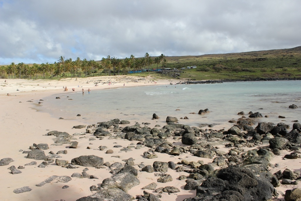 Easter Island Full Day Tour - The beach at Anakena