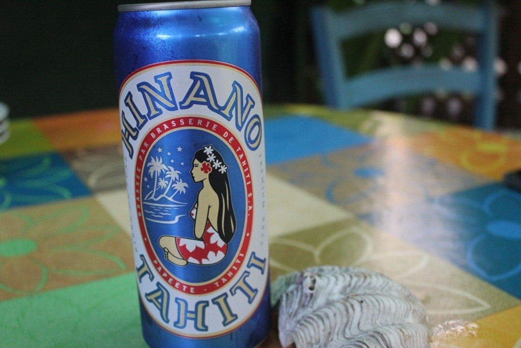 Moorea, French Polynesia on a Budget: Hinano broke our budget at $22 USD for a six pack