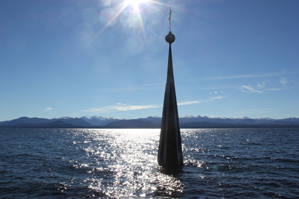 Bariloche sights: The Steeple in the Water