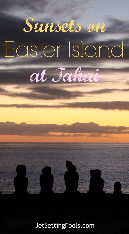 Sunsets on Easter Island at Tahai JetSetting Fools