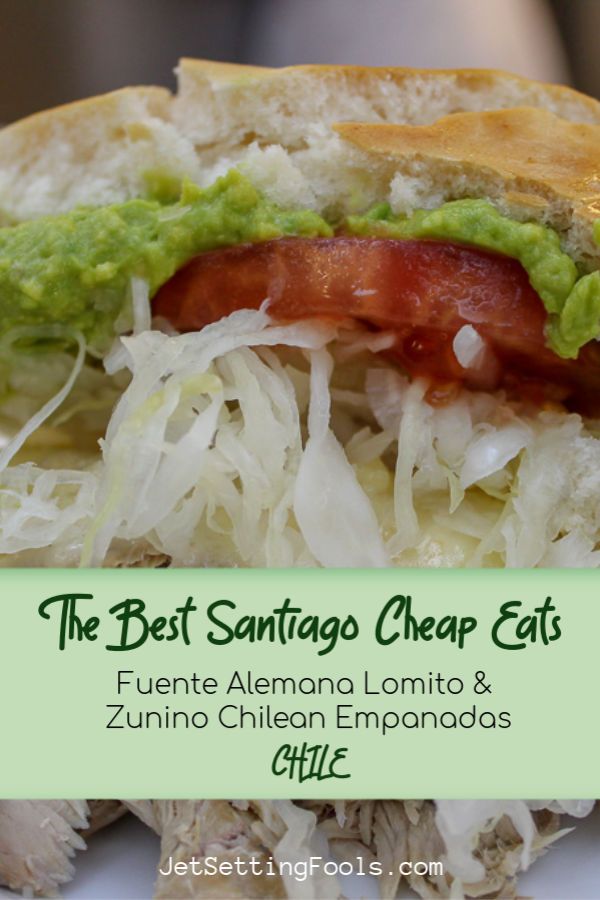 The Best Santiago Cheap Eats by JetSettingFools.com