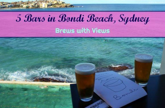 5 Bars in Bondi Beach, Sydney Brews with Views by JetSettingFools.com