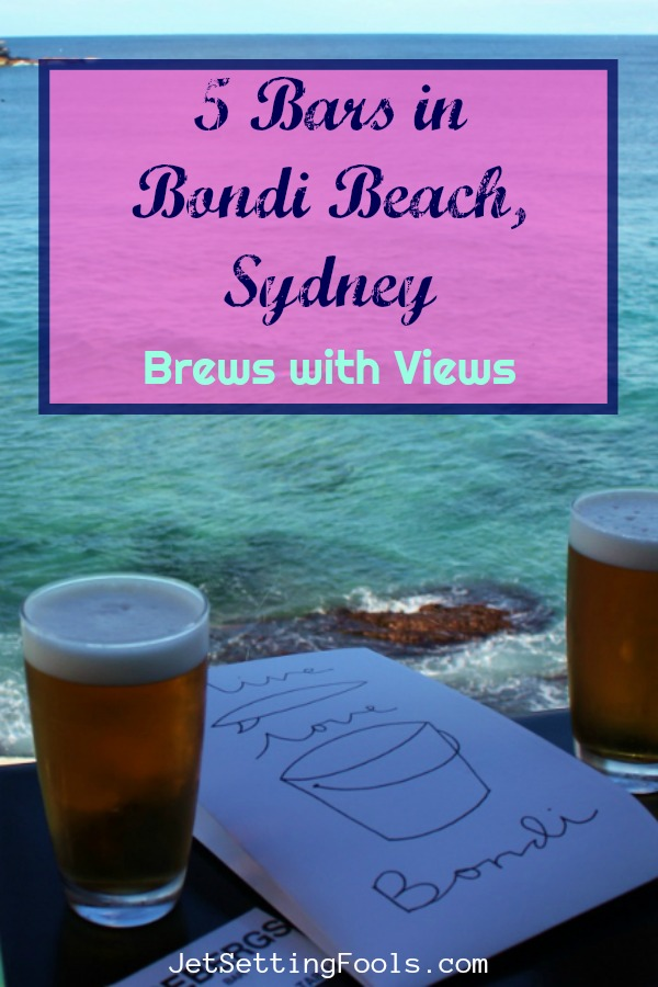 Bars in Bondi Beach, Sydney Brews with Views by JetSettingFools.com