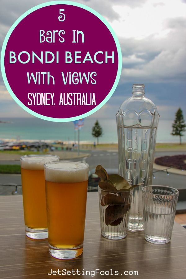 Bars in Bondi Beach with Views by JetSettingFools.com