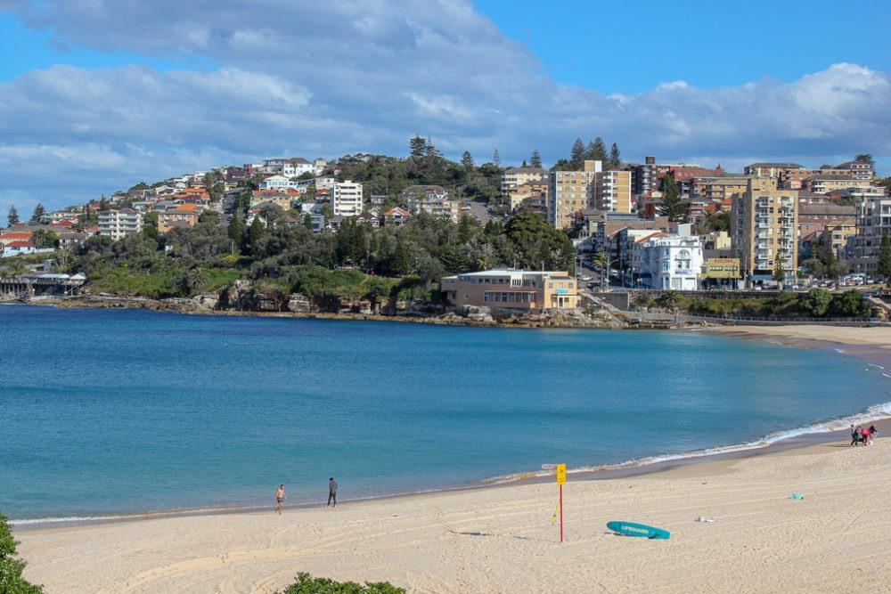 Coogee Beach near Sydney, Australia