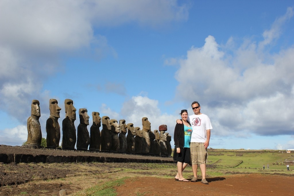 Travel budget for three months: Our all-day tour on Easter Island was $90, but was worth it for the history lesson from a local and a chance to see some impressive moai platforms.