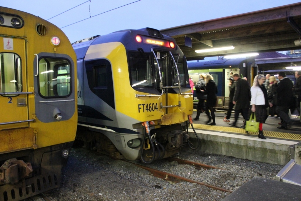 Travel budget for three months: Although a bit costly, the train system in Wellington was clean and efficient.