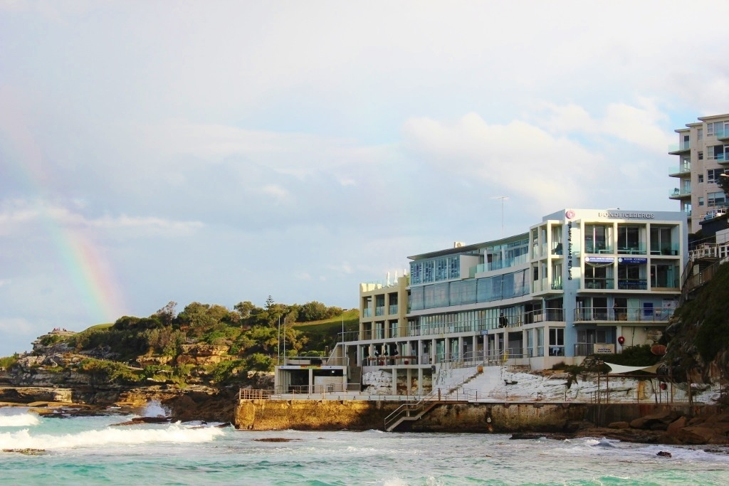 Bars in Bondi Beach: Icebergs - A view of Icebergs from the beach