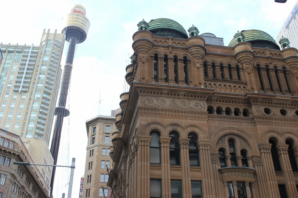 One day itinerary for Sydney: The Queen Victoria Building and Sydney Tower Eye