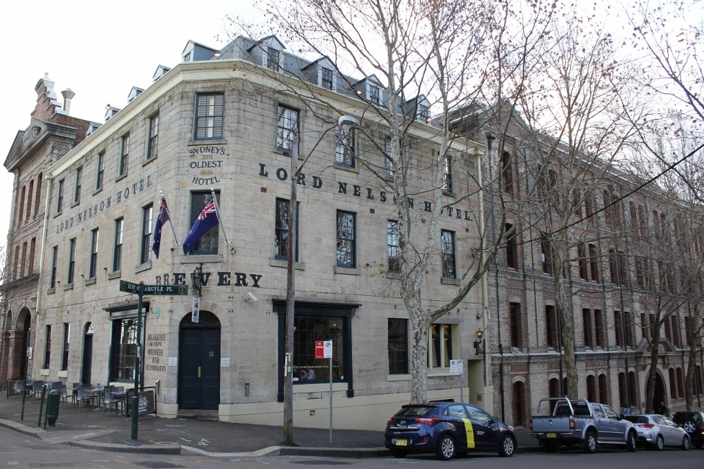One day itinerary for Sydney: Lord Nelson Brewery Hotel - serving up brews and beds since 1841