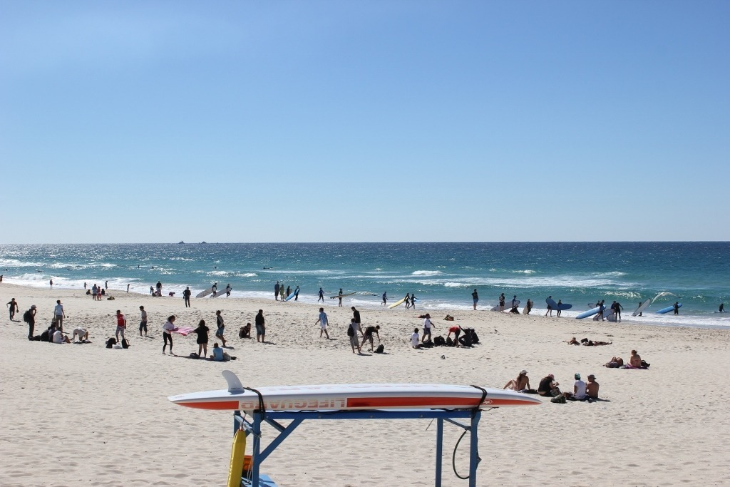Day trip to Surfers Paradise from Coolangatta: spending time at the beach is essential