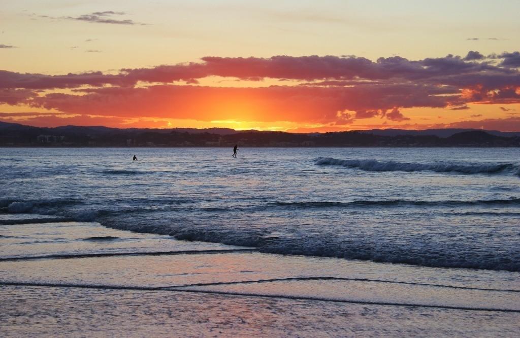 Sunset on the Gold Coast, Australia: A Photo essay JetSetting Fools
