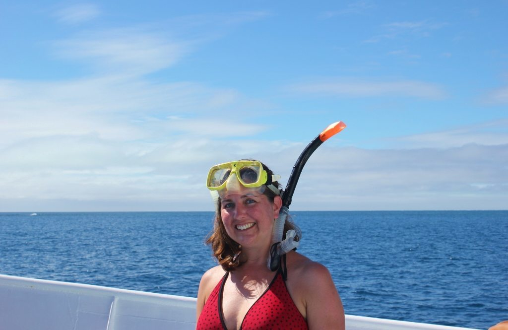 Ready for snorkeling Cairns