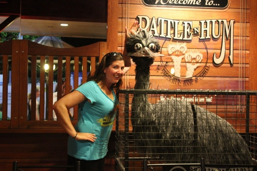 Things to do in Cairns, Australia on a budget: Find happy hours, like at Rattle n Hum