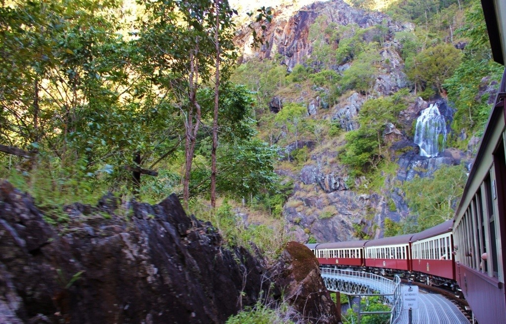 Scenic Railway from Kuranda to Cairns Australia JetSetting Fools